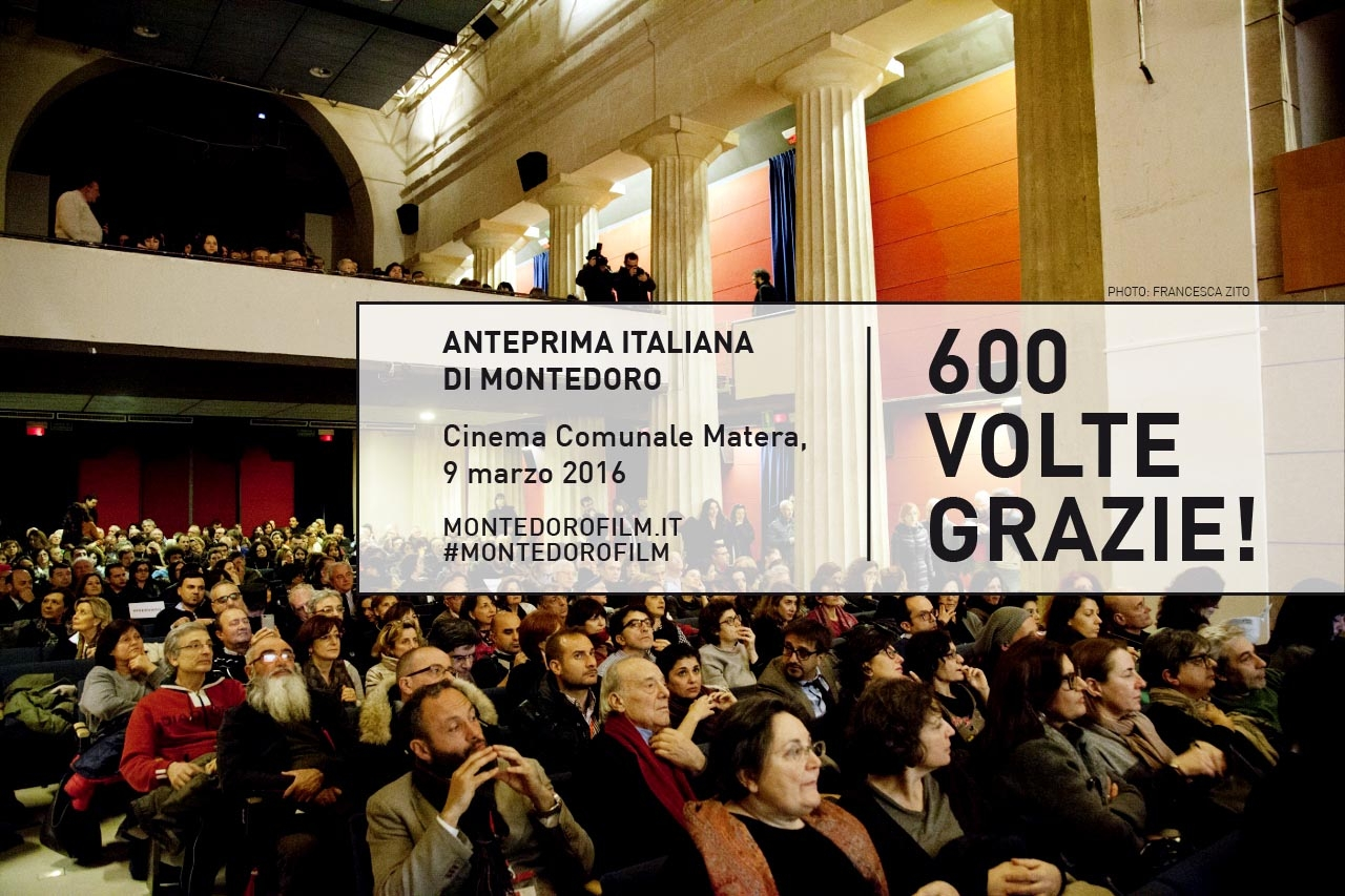 Sold out l'anteprima italiana di Montedoro a Matera